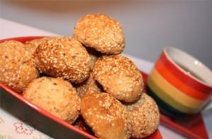 Hướng dẫn làm bánh quy mè