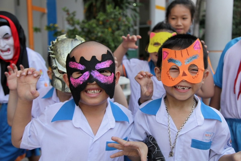 halloween nhut tan school  (8)
